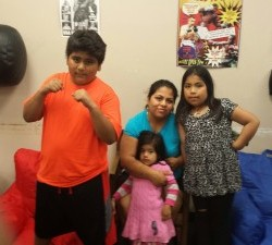 I Got Hands is truly a great resource for families and a place where the whole family can participate!!! Shown above is the Morales Family who often attend the GNPAL boxing program together.