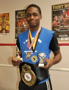 GNPAL boxer Andre Mack has won two medals, a belt and two trophies in his first year as a boxer.